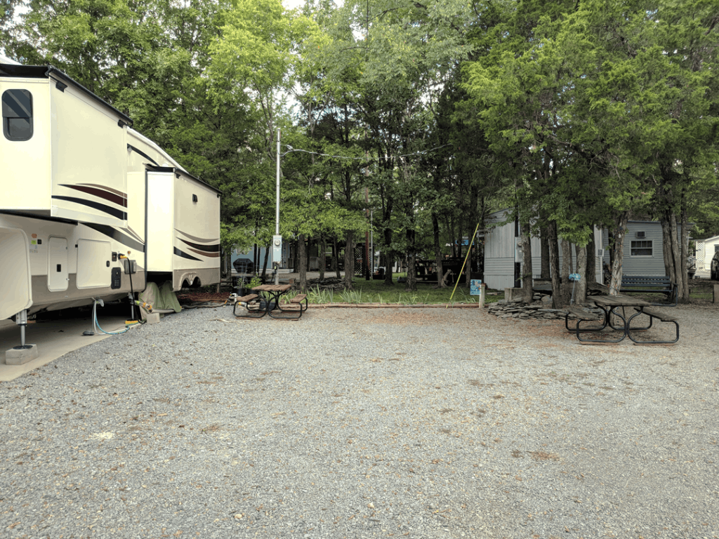 Rock Haven Lodge Recreational Vehicle Site #5